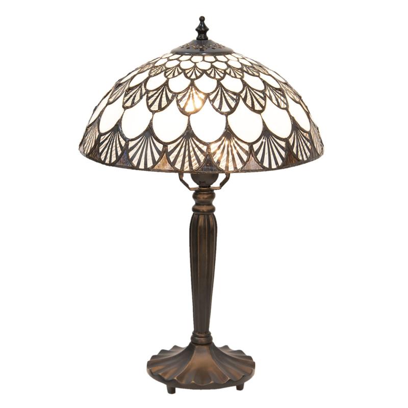 5998 Tafellamp Tiffany H46cm Ø30cm Missori