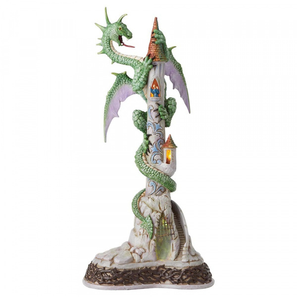 Dragon Lighted Masterpiece H47cm Jim Shore A29969  Beast of Brimstone