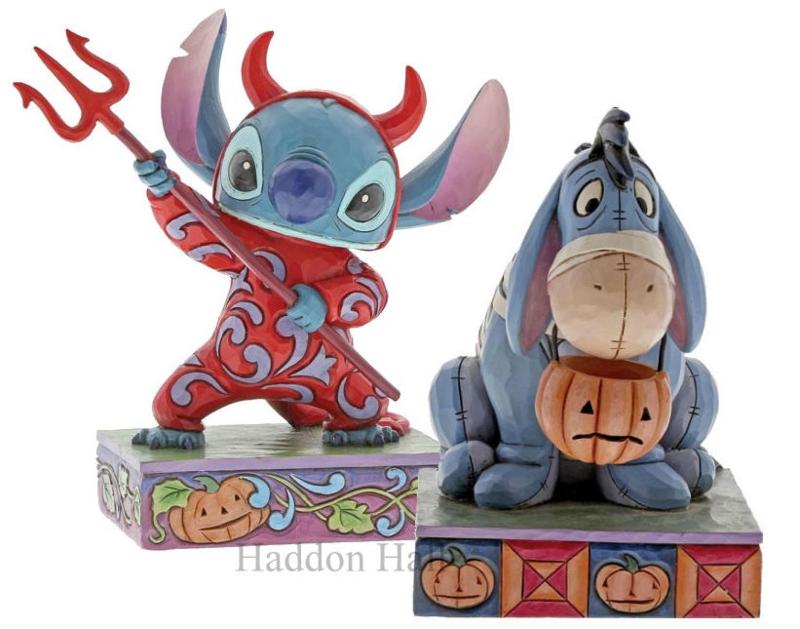 "Stitch & Eeyore ""Devilish Delight"" & Melancholy Mummy"" Jim Shore"