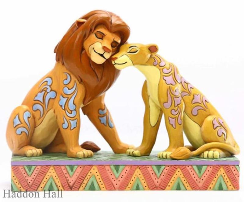 "Lion King ""Savannah Sweethearts""Simba & Nala H13cm Jim Shore 6005961"