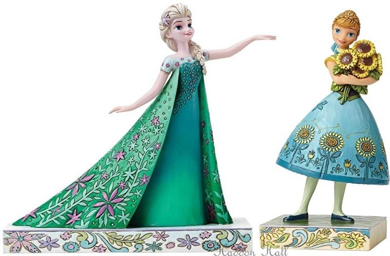 Frozen  Elsa & Anna  H20cm Set van 2 Jim Shore beelden 4050881 en 4050882