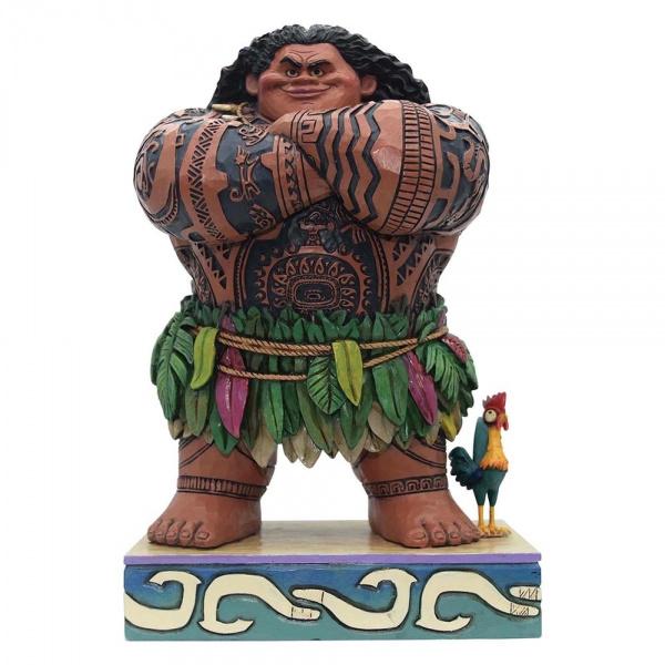 "MOANA ""Daring Demigod"" Maui H21cm Jim Shore 4058284"