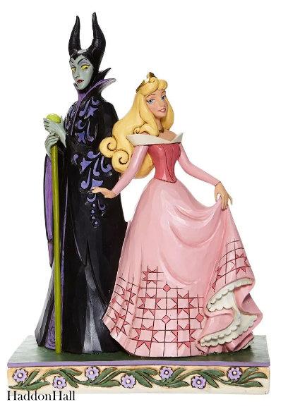 Aurora & Maleficent Sorcery and Serenity H23cm Jim Shore 6008068