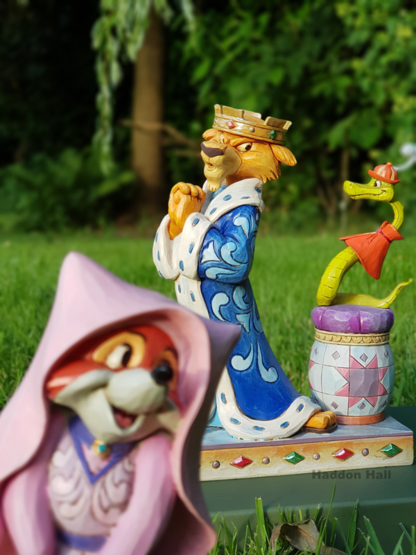 Disney Traditions Prince John and Sir Hiss Royal Pains Figurine 18cm 4050418