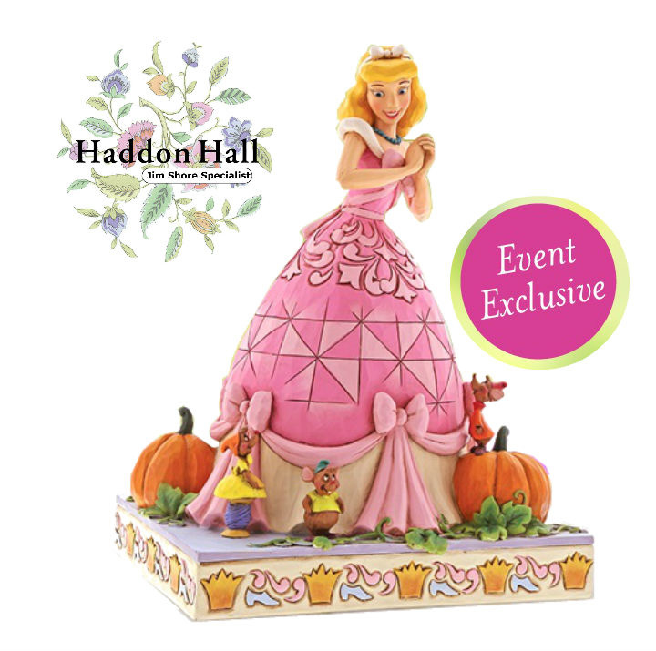"Cinderella ""Darling Dreamer""  H20,5cm Event Exclusief Pink Dress - Roze Jurk"
