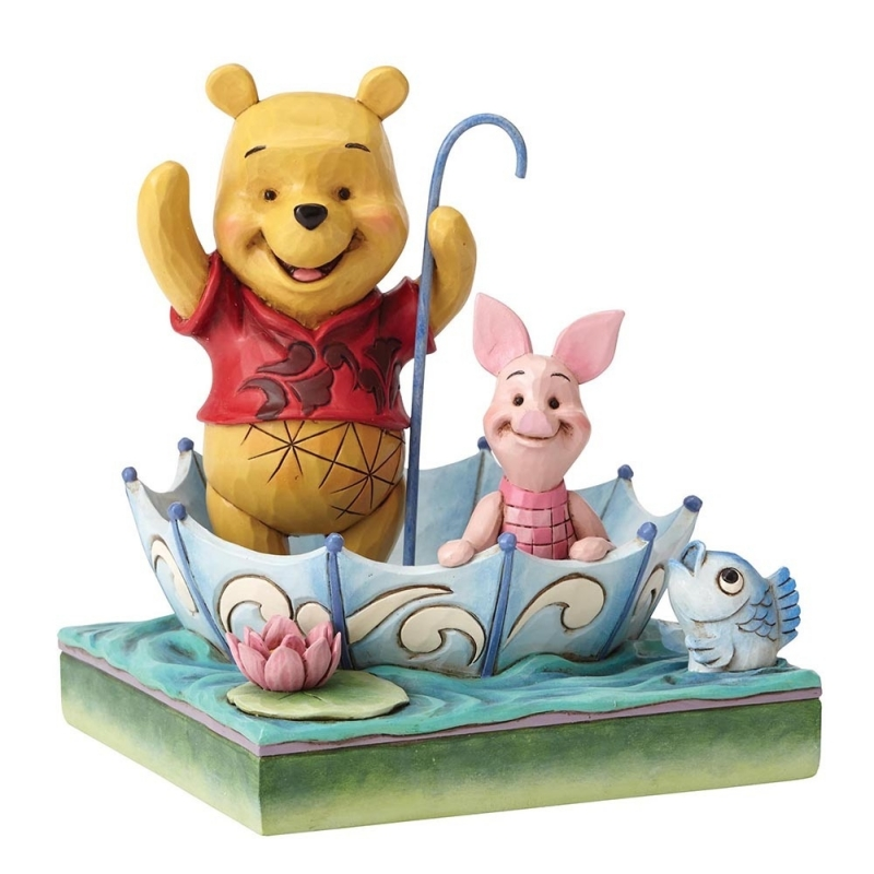 WINNIE THE POOH & PIGLET 50 Years of Friendship H 16cm Jim Shore  4054279