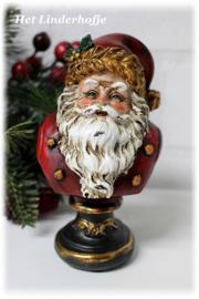 Borstbeeldje kerstman *.