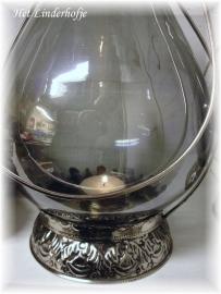 Lantaarn met donker glas