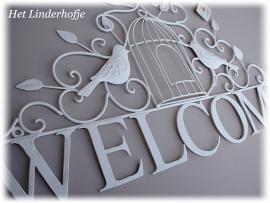 "Wandschild ""Welcome"" V"