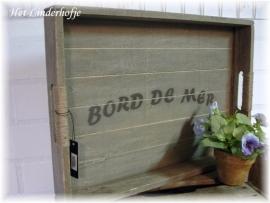 """Dienblad """"Bord de Mer"""""""