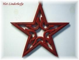Ster rood 36 cm*
