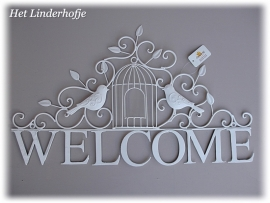"Wandschild ""Welcome"" V"