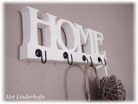 """Rekje """"HOME"""" + 4 haken"""