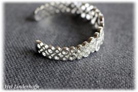 Zilveren armband rondjes