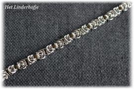 Zilveren armband schakel 2
