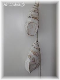 Hanger houten schelpen