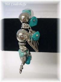 """Armband """"Blue heart"""""""