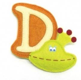 Dushi stoffen letter D t/m F