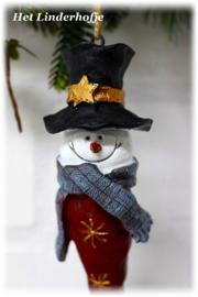 Sneeuwman smal *.