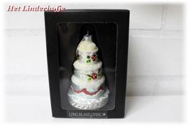 Kersthanger taart *