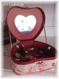 Juwelendoos hartvormig