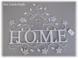 """Wandschild """"Home"""""""