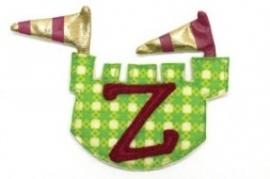 Dushi stoffen letter Y & Z