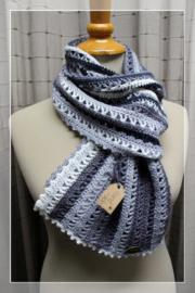 Sjaal grijs tinten