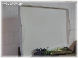 Dienblad landelijk wit