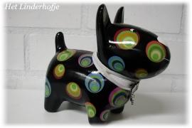 Spaarpot hond zwart