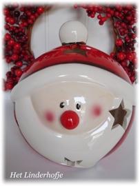 Windlicht kogel Santa