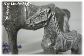 Paardjes zilver set