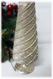 Kerstboom kegel goud *.