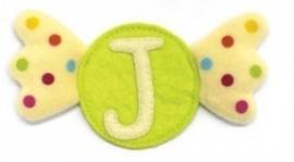 Dushi stoffen letter J t/m L