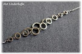 Zilveren armband ringen (925)