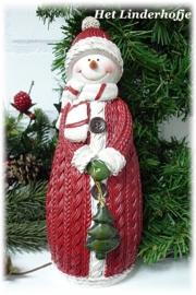 Sneeuwpop rood*