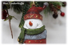 Sneeuwpop in sok *.
