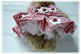 Beertje rood/wit