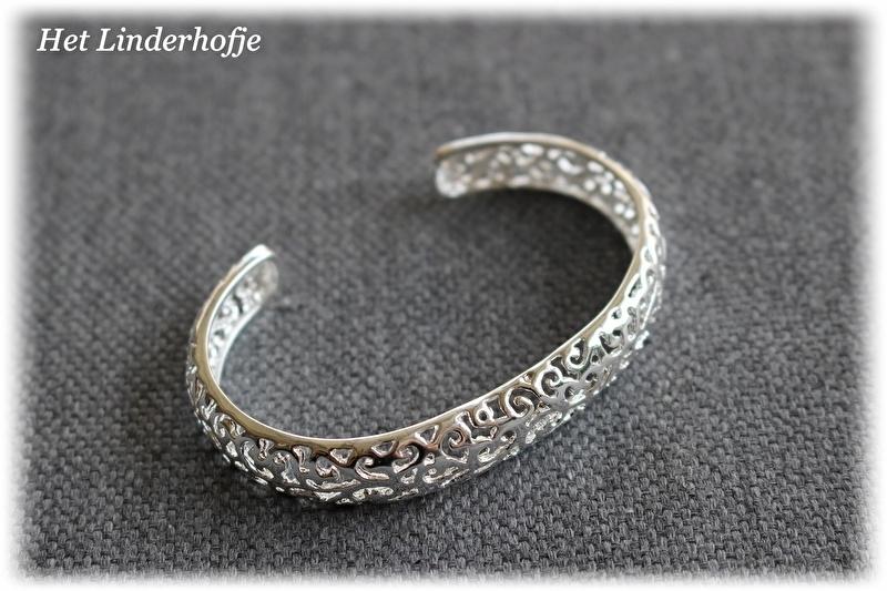 Armband opengewerkt zilver