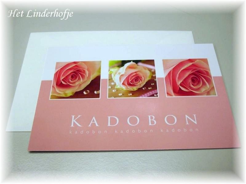Kadobon Rose Pearl vanaf € 5,00