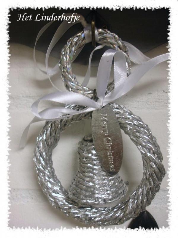 Bel in ring zilver