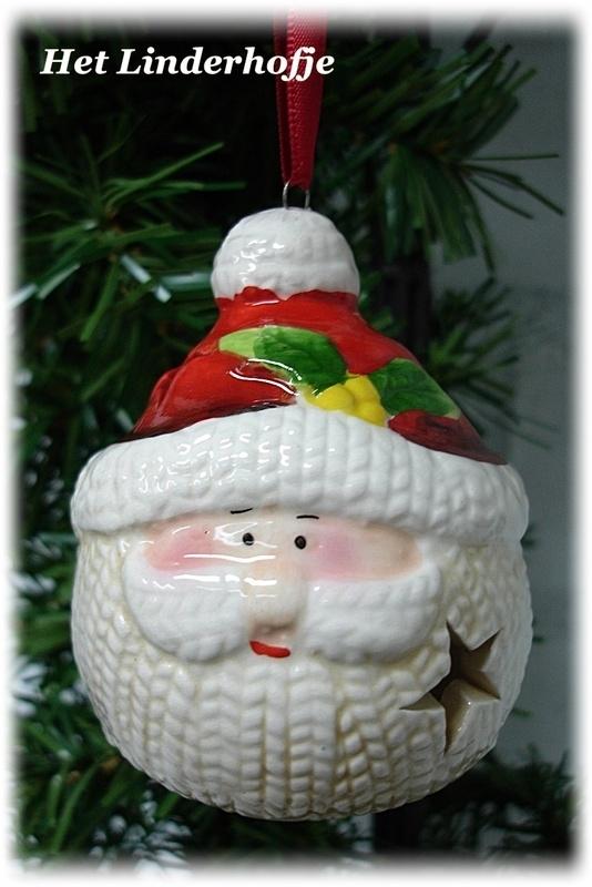Hanger Santa hoofdje