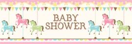 """""""Carousel Babyshower"""" mega slinger"""