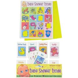 Babyshower Bingo Game