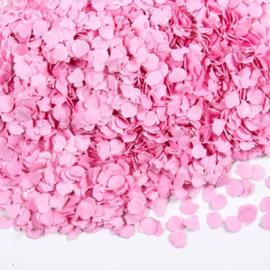 Licht roze confetti 100 gram