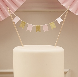 """Pastel Perfection"" Cake Topper"
