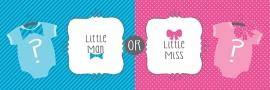 """""""Little Man or Little Miss"""" mega slinger"""