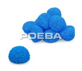 Blauwe dots snoepjes