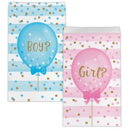"""Gender Reveal"" goody bags"