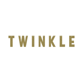 """Twinkle Twinkle Little Star"" Girl Letter slinger"